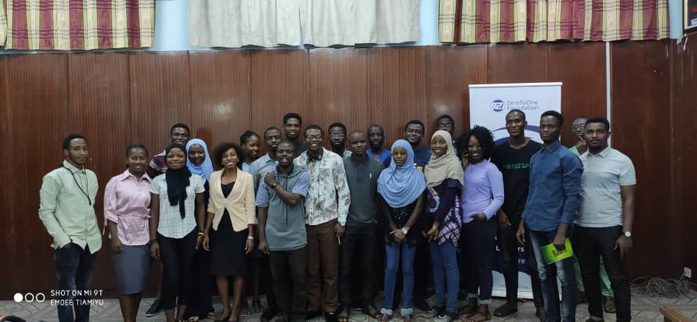 My Experience at the ZeroToOne Foundation International Youth Day  Event 2019 – Self Motivation with Emdee Tiamiyu by Oluwatomisin Ojuade